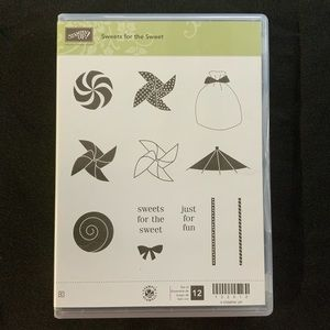 STAMPIN' UP! Sweets for the Sweet Cling Stamp Set